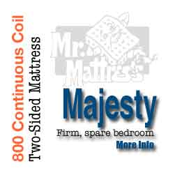 Majesty Continuous Coil Mattress