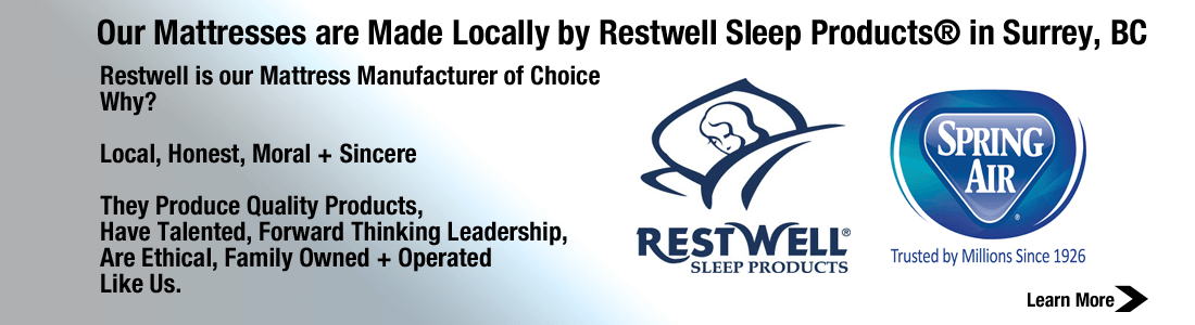 Mr. Mattress is a Proud Authorized Dealer for Restwell Sleep Products and Spring Air Mattresses
