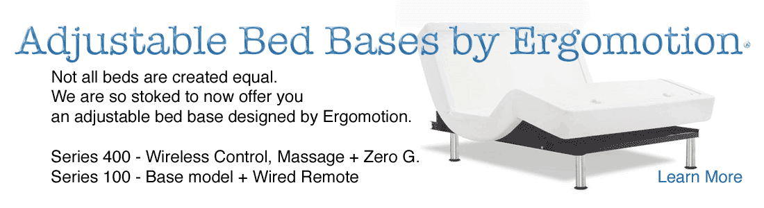 Ergomotion adjustable bed base