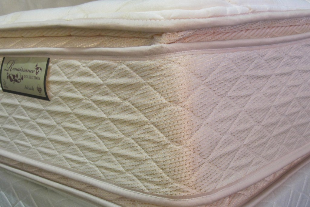 Adelaide Mattress (Foam Encased Pocket Coil Mattress with Pillow Top)